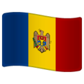 Flag: Moldova on WhatsApp 2.20.206.24