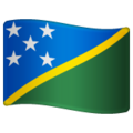 Flag: Solomon Islands on WhatsApp 2.20.206.24