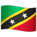 Flag: St. Kitts & Nevis on WhatsApp 2.20.206.24