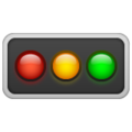Horizontal Traffic Light on WhatsApp 2.20.206.24