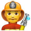 Man Firefighter on WhatsApp 2.20.206.24