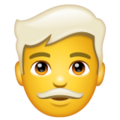 Man: White Hair on WhatsApp 2.20.206.24