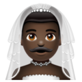 Man with Veil: Dark Skin Tone on WhatsApp 2.20.206.24