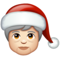 Mx Claus: Light Skin Tone on WhatsApp 2.20.206.24