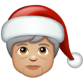 Mx Claus: Medium-Light Skin Tone on WhatsApp 2.20.206.24
