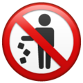 No Littering on WhatsApp 2.20.206.24