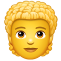 Person: Curly Hair on WhatsApp 2.20.206.24