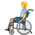 Person in Manual Wheelchair on WhatsApp 2.20.206.24