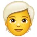 Person: White Hair on WhatsApp 2.20.206.24