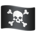 Pirate Flag on WhatsApp 2.20.206.24