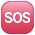 SOS Button on WhatsApp 2.20.206.24