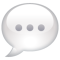 Speech Balloon on WhatsApp 2.20.206.24
