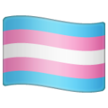 Transgender Flag on WhatsApp 2.20.206.24