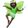 Woman Fairy: Dark Skin Tone on WhatsApp 2.20.206.24