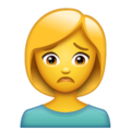 Woman Frowning on WhatsApp 2.20.206.24