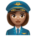 Woman Pilot: Medium Skin Tone on WhatsApp 2.20.206.24