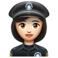 Woman Police Officer: Light Skin Tone on WhatsApp 2.20.206.24