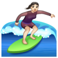 Woman Surfing: Light Skin Tone on WhatsApp 2.20.206.24