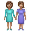 Women Holding Hands: Medium Skin Tone on WhatsApp 2.20.206.24