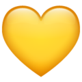 Yellow Heart on WhatsApp 2.20.206.24