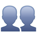 Busts in Silhouette on WhatsApp 2.21.16.20
