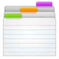 Card Index Dividers on WhatsApp 2.21.16.20