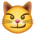 Cat with Wry Smile on WhatsApp 2.21.16.20