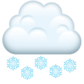 Cloud with Snow on WhatsApp 2.21.16.20