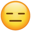 Expressionless Face on WhatsApp 2.21.16.20