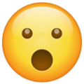 Face with Open Mouth on WhatsApp 2.21.16.20