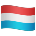 Flag: Luxembourg on WhatsApp 2.21.16.20