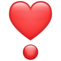 Heart Exclamation on WhatsApp 2.21.16.20