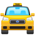 Oncoming Taxi on WhatsApp 2.21.16.20
