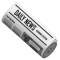 Rolled-Up Newspaper on WhatsApp 2.21.16.20