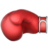 Boxing Glove on Apple iOS 11.1