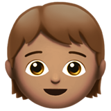 Child: Medium Skin Tone on Apple iOS 11.1