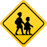 Children Crossing on Apple iOS 11.1