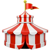 Circus Tent on Apple iOS 11.1