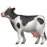 Cow on Apple iOS 11.1