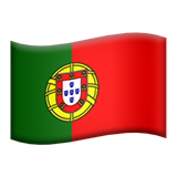 Flag: Portugal on Apple iOS 11.1