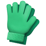 Gloves on Apple iOS 11.1