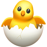 Hatching Chick on Apple iOS 11.1
