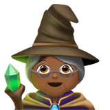Mage: Medium-Dark Skin Tone on Apple iOS 11.1