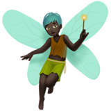 Man Fairy: Dark Skin Tone on Apple iOS 11.1