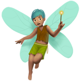 Man Fairy: Medium Skin Tone on Apple iOS 11.1