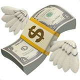 Money with Wings on Apple iOS 11.1
