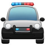 Oncoming Police Car on Apple iOS 11.1