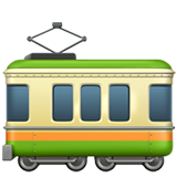Railway Car on Apple iOS 11.1