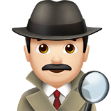 Detective: Light Skin Tone on Apple iOS 11.1