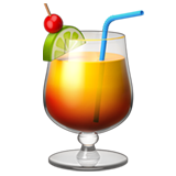 Tropical Drink on Apple iOS 11.1